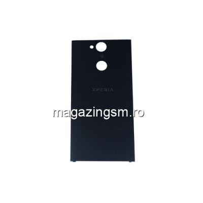 Capac Baterie Spate Sony Xperia XA2 Cu Adeziv Sticker Negru