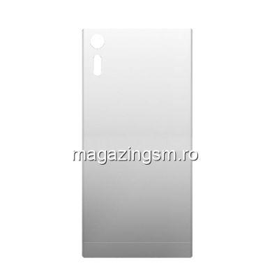 Capac Baterie Spate Sony Xperia XZ Cu Adeziv Sticker Gri