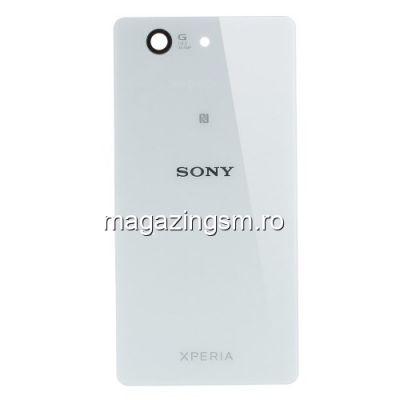 Capac Baterie Spate Sony Xperia Z3 Compact D5803 D5833 M55w Alb