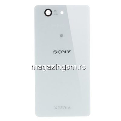 Capac Baterie Spate Sony Xperia Z3 Compact D5833 Original Alb