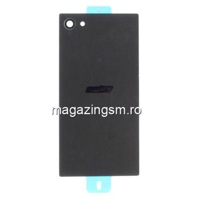 Capac Baterie Spate Sony Xperia Z5 Compact Cu Adeziv Sticker Gri