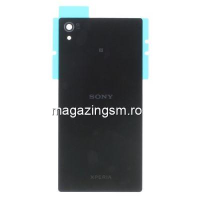Capac Baterie Spate Sony Xperia Z5 Premium Cu Adeziv Sticker Negru