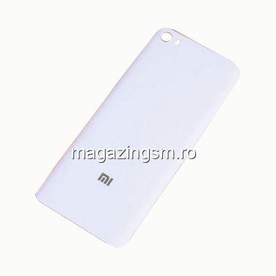 Capac Baterie Spate Xiaomi Mi 5 Alb