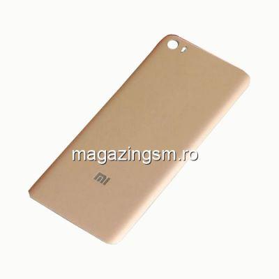 Capac Baterie Spate Xiaomi Mi 5 Auriu