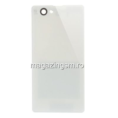 Capac Spate Baterie Sony Xperia Z1 Compact / Z1 Mini Original Alb