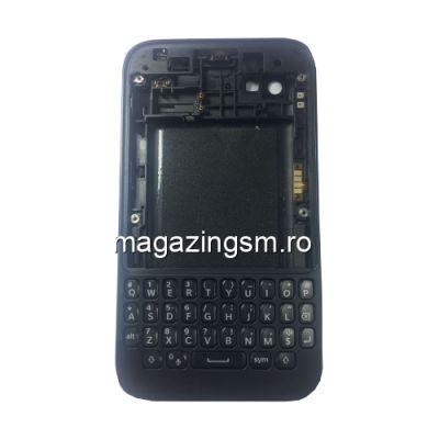 Carcasa Completa BlackBerry Q5 Neagra