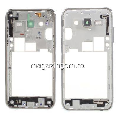 Carcasa Corp Mijloc Samsung Galaxy J5 SM-J500F Originala Argintie