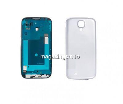 Carcasa Samsung I9505 Galaxy S4 Alba Originala