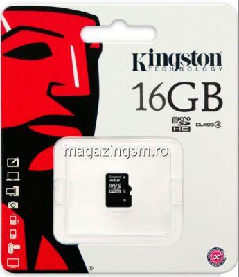 Card De Memorie Kingston Micro SD 16GB Class 4