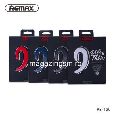 Casca Wireless Bluetooth Cu Microfon iPhone Samsung Huawei REMAX Neagra