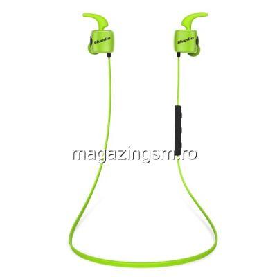 Casti Wireless Bluetooth Stereo Sport Samsung iPhone Huawei LG HTC Nokia LG BLUEDIO Series Verzi