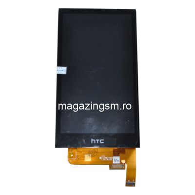 Display Cu Touchscreen Si Geam HTC Desire 610  Negru