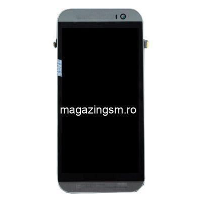 Display Cu Touchscreen si RAMA HTC One M8 Argintiu