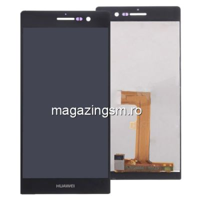 Display Cu Touchscreen Huawei Ascend P7 / P7 Dual Sim Negru