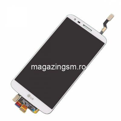 Display Cu Touchscreen LG G2 D802 D805 Cu Rama Alb