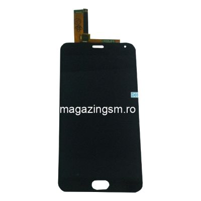 Display Cu Touchscreen Meizu M2 Note Original Negru