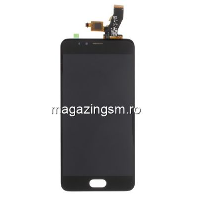 Display Cu Touchscreen Meizu M5s Original Negru