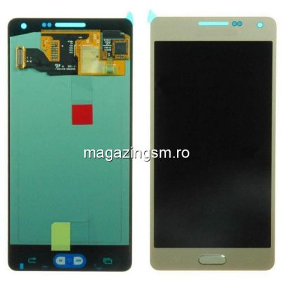 Display Cu Touchscreen Samsung Galaxy A5 A520F Original Auriu