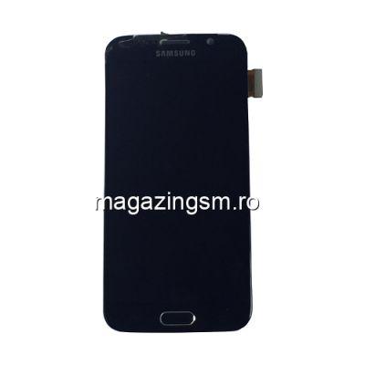 Display Cu Touchscreen Samsung Galaxy S6 SM-G920 Original Complet SWAP Albastru Cu Sticla Exfoliata