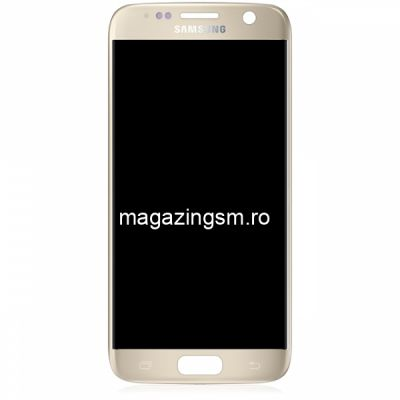 Display Cu Touchscreen Samsung Galaxy S7 G930F Original Gold
