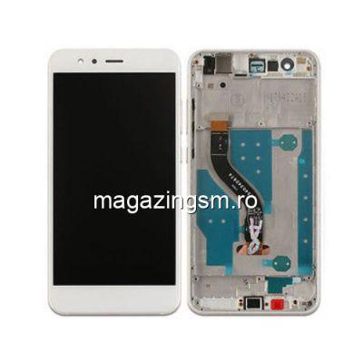 Display Cu Touchscreen Si Rama Huawei P10 Lite Original SWAP Alb