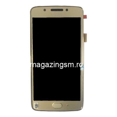 Display Cu Touchscreen Si Rama Motorola Moto G5 Auriu