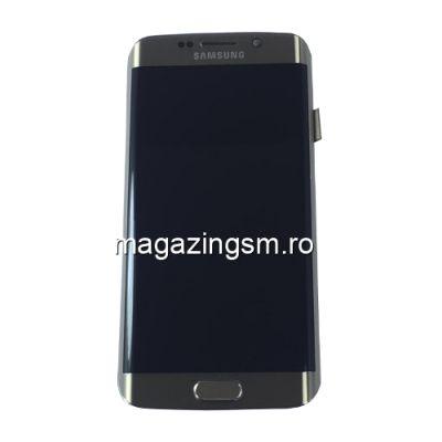 Display Cu Touchscreen Si Rama Samsung Galaxy S6 Edge SM-G925 Original SWAP Gold