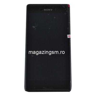 Display Cu Touchscreen Sony Xperia M4 Aqua Negru
