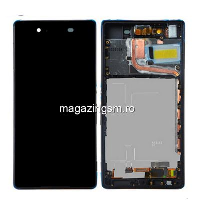 Display Cu Touchscreen Si Rama Sony Xperia Z3 Plus / Xperia Z4 E6533 Negru