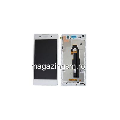 Display Cu Touchscreen Sony Xperia XA F3111 F3112 Alb