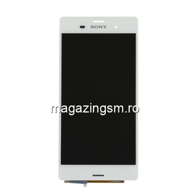 Display Cu Touchscreen Sony Xperia Z3 Alb