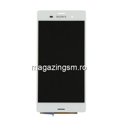 Display Cu Touchscreen Sony Xperia Z3 Alb