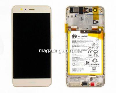 Display Huawei P10 Lite Original Cu Rama Auriu Service Pack