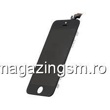Display iPhone 5 cu TouchScreen si Geam Negru- Promotie