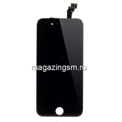 Display iPhone 6 cu TouchScreen si Geam Negru - Promotie