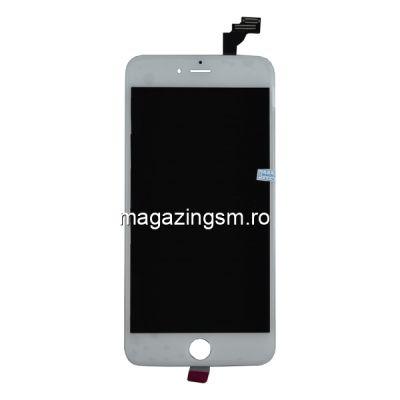 Display iPhone 6 Plus cu TouchScreen si Geam Alb - Promotie