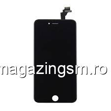 Display iPhone 6 Plus cu TouchScreen si Geam Negru - Promotie
