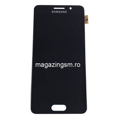 Display Samsung Galaxy A3 A310F Complet Cu RAMA Original Negru SWAP