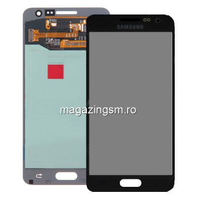 Display Samsung Galaxy A3 SM-A300F Negru