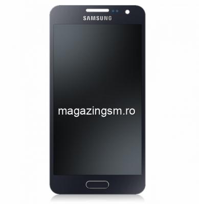 Display Samsung Galaxy A3 SM-A300F Negru - Promotie