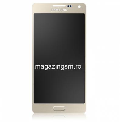 Display Samsung Galaxy A5 A500F Auriu - Promotie