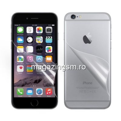 Folie Protectie Display iPhone 6 2 in 1 HD Clear