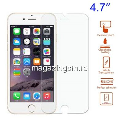 Geam De Protectie iPhone 6 Tempered Protector Guard Film
