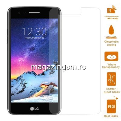 Geam Folie Sticla Protectie Display LG K8 (2017) Tempered