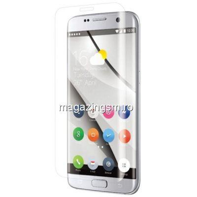 Geam Folie Sticla Protectie Display Samsung Galaxy S8 Acoperire Completa Transparent 6D