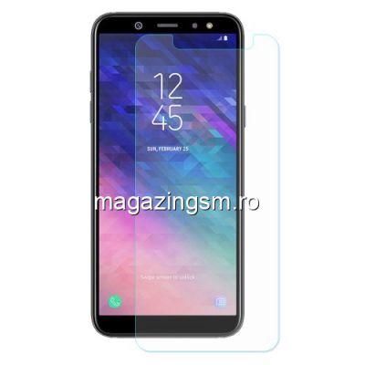 Geam Protectie Display Samsung Galaxy A6 Plus 2018 Arc Edge