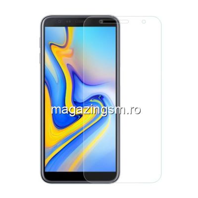 Geam Protectie Display Samsung Galaxy J6 Plus 2018 Arc Edge