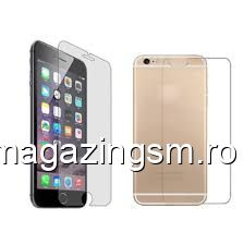 Geam Protectie Display Si Capac Spate iPhone 6s Premium Tempered PRO+ In Blister
