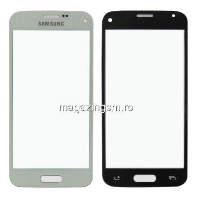Geam Samsung Galaxy S5 SM-G900F Alb