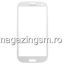 Geam Samsung I9300, I9305 Galaxy S3, i747, T999 Galaxy S3 Galaxy S3 Alb